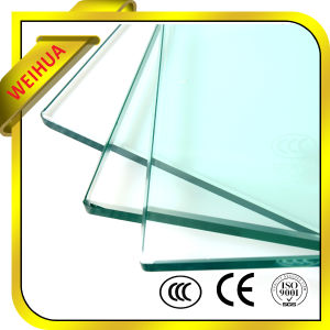 Shandong Weihua Glass 8mm 10mm 12mm Tempered Glass for Sale pictures & photos