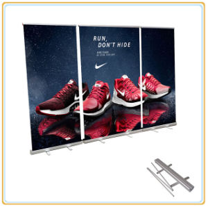 Roll up Banner Stand Portable Backdrop Stands pictures & photos