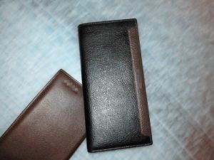 Guangzhou Supplier Fashion Leather Men Long Wallet Passport Card Bag (Z-120) pictures & photos