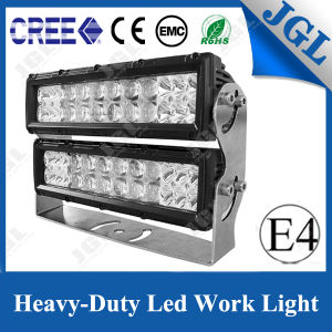 Four Rows Heavy-Duty LED Work Lamp 9-64 Voltage Construction