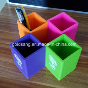 Customized Logo Branded Promotional Silicone Pen Container/Pencil Holder pictures & photos