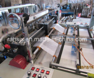 Automatic Hot Cutting T-Shirt Shopping Bag Making Machine (HSRQ-500X2) pictures & photos