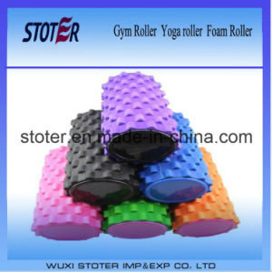 Colorful Grid Trigger Point Foaming Roller for Body Building