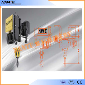 Single Girder Wire Rope Hoist pictures & photos