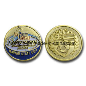 Custom Competition Soft Enamel Souvenir Coin (QL-SMB-0013) pictures & photos