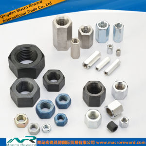 SAE ASTM Hex Nut, Heavy Nut, High Nut, Coupling Nut pictures & photos