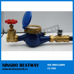 High Performance Water Meter with Valve with High Quality (BW-820) pictures & photos