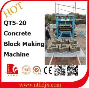 Concrete Block, Paver Block and Curbstone Block Machine (QT5-20) pictures & photos
