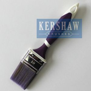 Paint Brush (paintbrush Synthetic filament with soft touch handle and stainless steel ferrule, FLAT BRUSH) pictures & photos