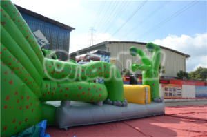 2015 Special Design Inflatable Green The Hulk Dry Slide for Sale pictures & photos