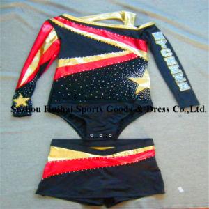 Metallic Shiny Cheerleading Uniforms pictures & photos