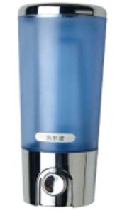 Excellent Quality 400ml Chrome Blue Plastic Soap Dispenser pictures & photos