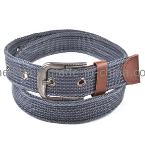 China Factory Customized Fashion Men Canvas Fabric Belt pictures & photos