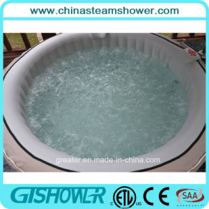 Computerized Blow up Outdoor Hot Tub SPA (pH050011 Grey) pictures & photos