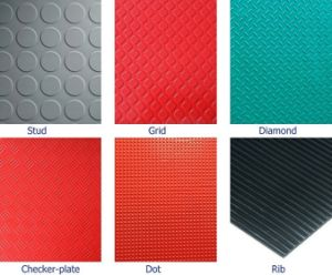 PVC Flooring Mat with Bigger Studs pictures & photos