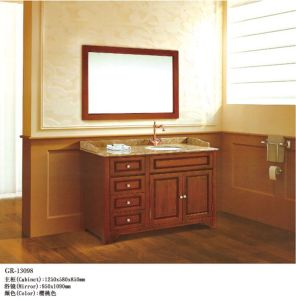 Wooden Furniture Bathroom Cabinet (13098) pictures & photos
