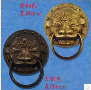 Door Knob with Chinese Antique Style, Lion and Kirin Head Shape pictures & photos
