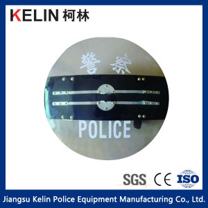 PC Electric Shock Shield for Anti Riot Type Round pictures & photos
