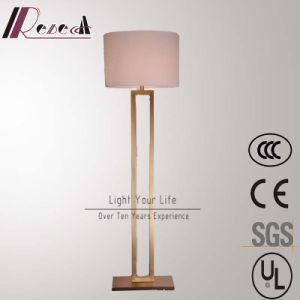 Modern Hotel Decoratove Antique Brass Standing Floor Lamp pictures & photos