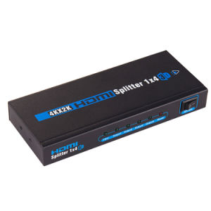 4k 1X4 HDMI Splitter (1 to 4 HDMI V1.4 Splitter) pictures & photos