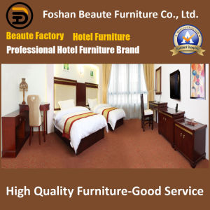 Hotel Furniture/Luxury Double Bedroom Furniture/Standard Hotel Double Bedroom Suite/Double Hospitality Guest Room Furniture (GLB-0109857) pictures & photos