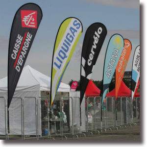 Hot Sale Advertising Flag Printing pictures & photos