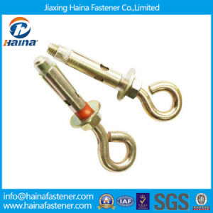 Jiaxing Haina Color Zinc Plated Sleeve Anchor with Eye Bolt pictures & photos