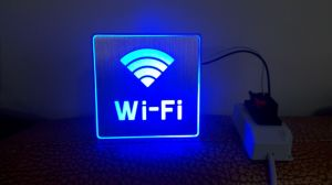 Rechargeable LED Aluminum Sign Light LED WiFi Sign Light LED WiFi Flood Light pictures & photos