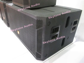 "Stx828s Dual 18"" Subwoofer DJ Speaker Box pictures & photos"