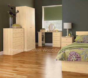 High Quality Simple Bedroom Set (HF-EY086) pictures & photos
