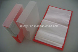 Plastic Bag with Box for Card