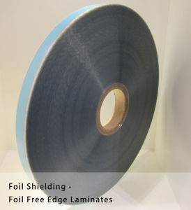 Foil Shielding Tape Foil Free Edge Aluminum Polyester Tape for Cable Use