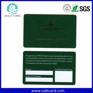 Factory Price PVC Loyalty Card Barcode Card pictures & photos