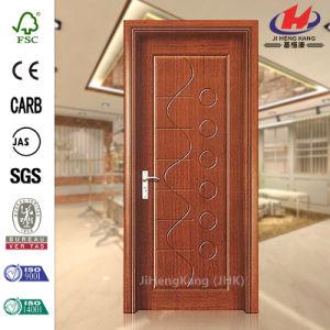 Beautiful Color Qatar 1-Panel PVC Door pictures & photos
