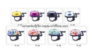 Alloy Bicycle Mini Bell with Plastic Base (HEL-208) pictures & photos