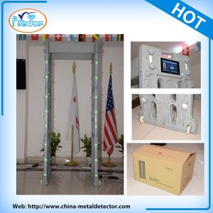 Touch Screen Portable Door Frame Metal Detector pictures & photos