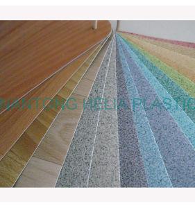 Exterior vinyl flooring