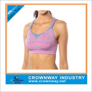 Customized Fit Racer Back Powerhouse Support Bra with Well-Ventilated Design pictures & photos