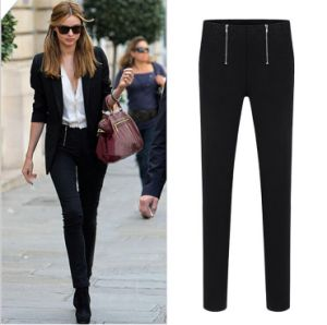P1119 All-Match High Waist Pencil Pants with Zipper Good Quality pictures & photos