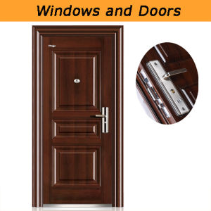 Fashionable Steel Security Door pictures & photos