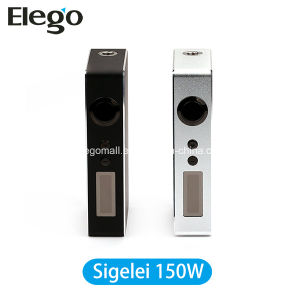 Authentic E Cigarette Mod Sigelei 150W Box Mod (18650 battery) pictures & photos