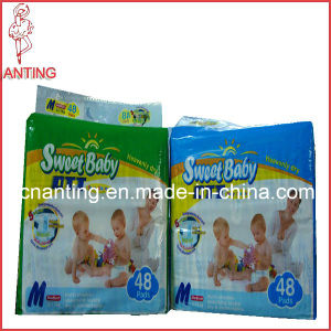 Wholesale Soft Breathable OEM Free Sample Disposable Baby Diaper pictures & photos