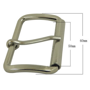 Metal Silver Roller Buckle Factory pictures & photos