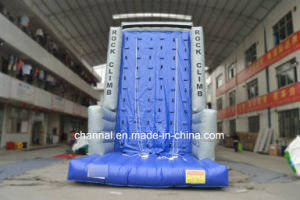2016 Hot Excited Outdoor Inflatable Rock Climbing Wall for Sale pictures & photos