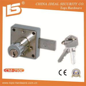 Zinc Furniture & Desk & Cabinet Drawer Lock (CM-250C) pictures & photos