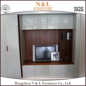 High Quality White PVC Sliding 6 Doors Clothes Closet pictures & photos