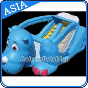 Inflatable Blue Hippo Slide for Party & Event pictures & photos