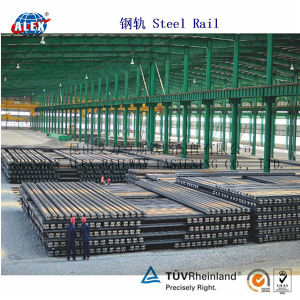 Uic Standard Steel Rail with ISO9001: 2008 pictures & photos