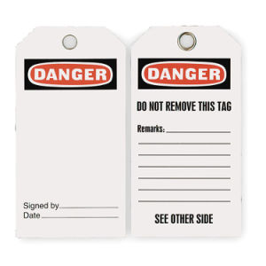 PVC Danger Label for Safety Sign (2RMW7)