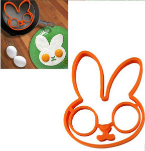 High Quality Cute Rabbit Shape Silicone Fried Egg Mold